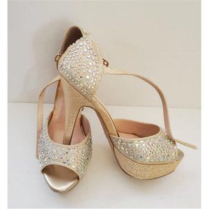 De Blossom Collection High Heel Platform Shoes S-9